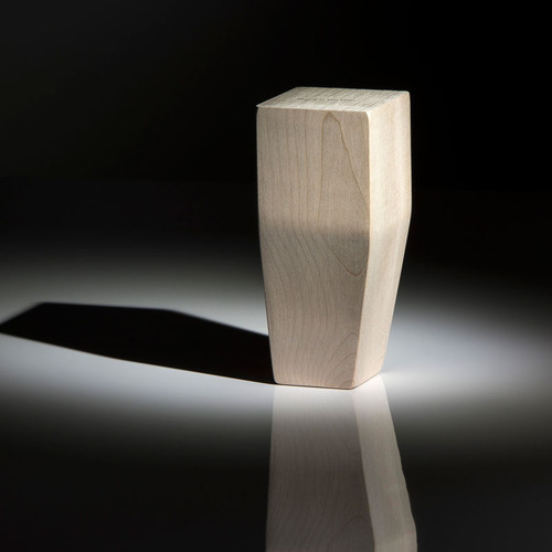 Wood 2 Sided Taper Leg