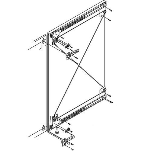 hafele xl slide pocket door system closet masters. Black Bedroom Furniture Sets. Home Design Ideas