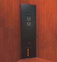 Corner Power Column (3 to 5 Power plus Data Options)