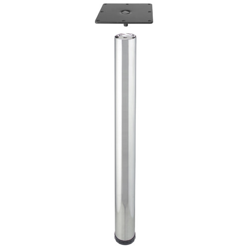 "Metal Table Legs 2-3/8"" diameter, 28"" Table or 34-1/2"" Counter Height"