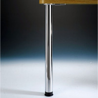 "Zoom Leg Single, 2-3/8"" diameter, adjusts from 27-3/4"" up to 31-3/4"" tall"