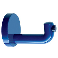 Hafele-HEWI-Hook-with-Door-Buffer-842.63.499-Ultramarine Blue