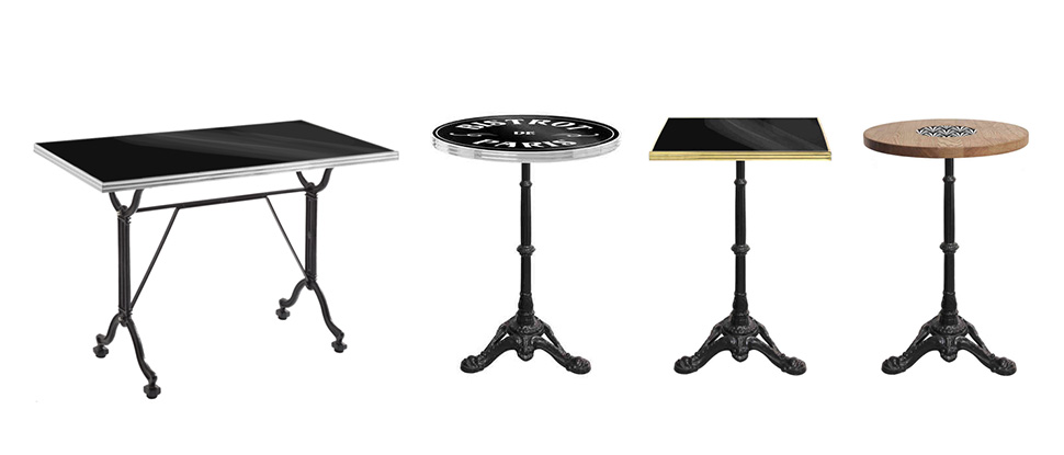 Ardamez French Bistro Tables