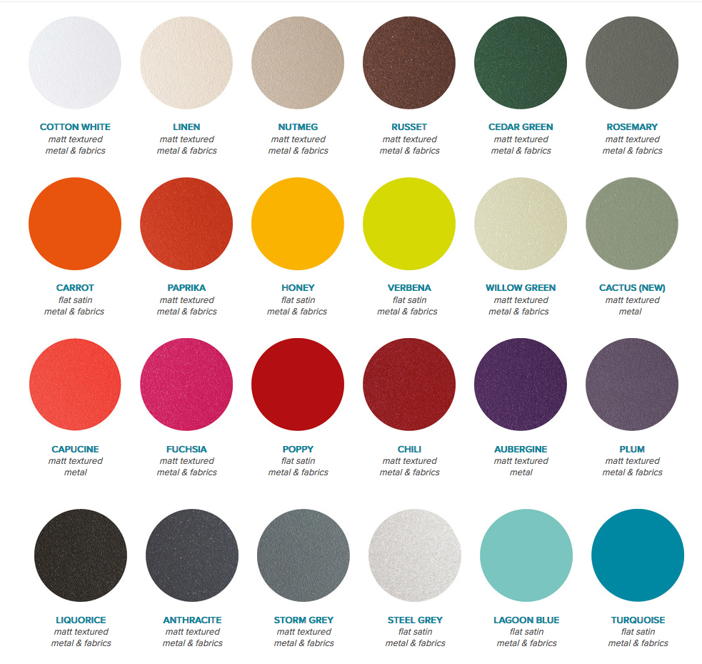 Fermob furniture fermob color chart guide bistro furniture 2017fermobcolorchartg nvjuhfo Choice Image