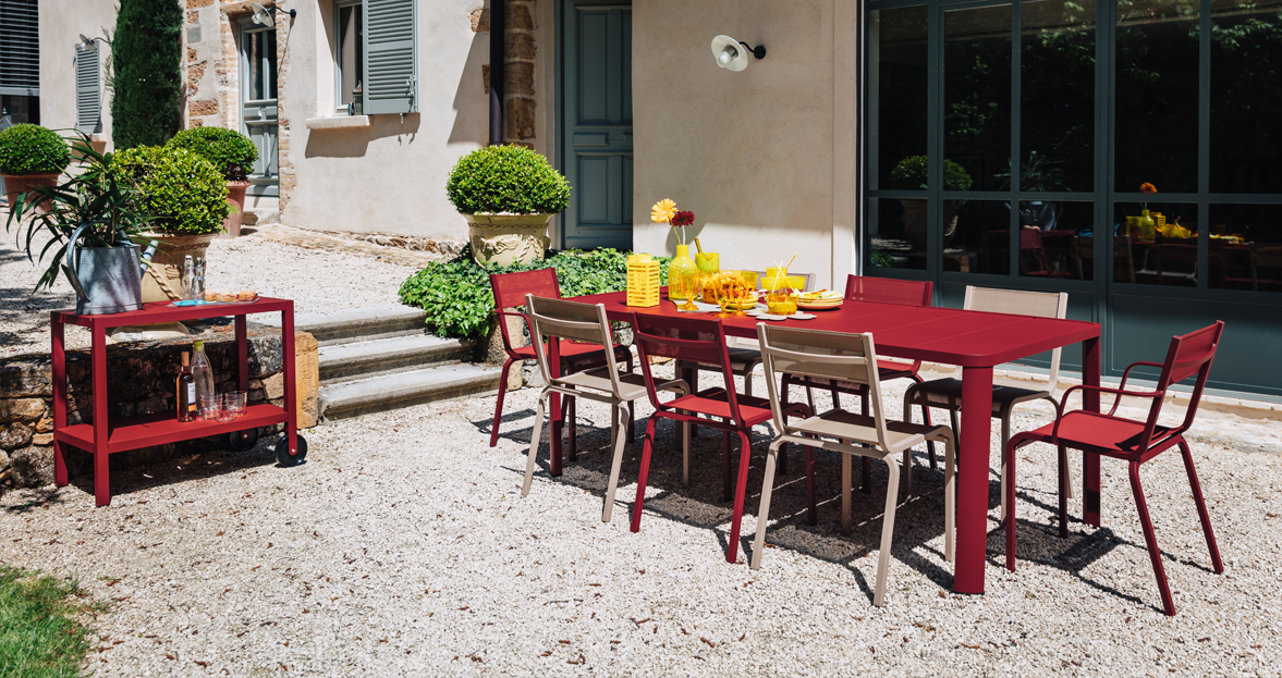 Table Costa Fermob. Best With Table Costa Fermob. Beautiful Fauteuil ...