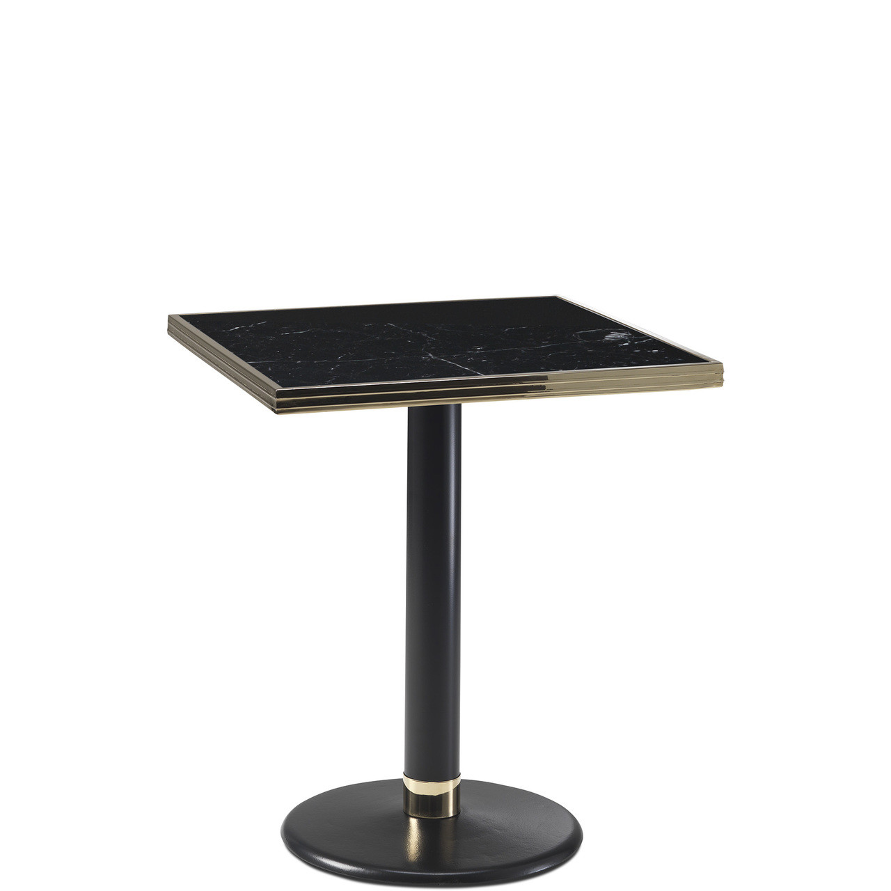 Marble Bistro Accent Table: Ardamez Square Black Marble Haussmann Bistro Table Top