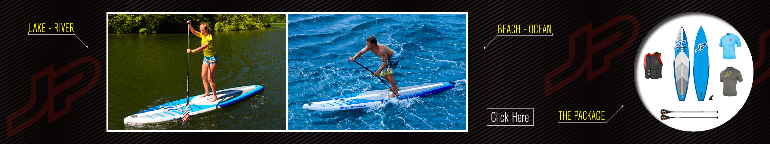 Stand Up Paddleboard Summer Package
