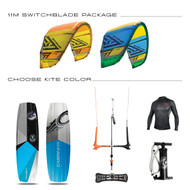 2017 CABRINHA SWITCHBLADE 11M KITE + GEAR PACKAGE