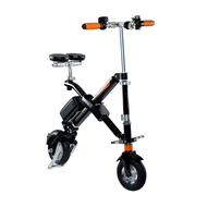 E6 Electric Bicycle - Black Foldable