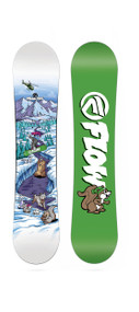 2017 FLOW MICRON MINI 100 KIDS SNOWBOARD