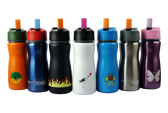 Eco Vessel Frost Triple Insulated Stainless Steel Water Bottle with Flip Spout, 13 oz, 1 pk