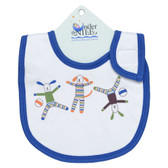 Under the Nile Organic Cotton Bib, Scrappy Dog, 1 pk