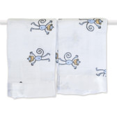 Aden + Anais Amelia - Monkey Classic Security Blankets 2-Pack