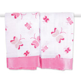 Aden + Anais Nay Nay - Butterfly Classic Security Blankets 2-Pack