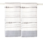 Aden + Anais Moonlight - Bead Bamboo Issie Security Blankets 2-Pack