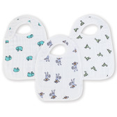 Aden + Anais Jungle Jam Classic Snap Bibs 3-Pack