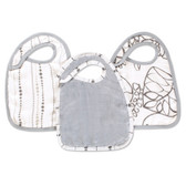 Aden + Anais Moonlight Bamboo Snap Bibs 3-Pack