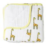 Aden + Anais Jungle Jam - Giraffe + White Classic Dream Blankets