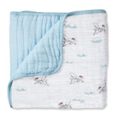 Aden + Anais Liam The Brave - Flying Dog Classic Dream Blankets
