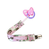 Booginhead PaciGrip Pacifier Holder, Girl Camo