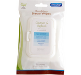 The First Years Soothing Breast Wipes 30 Count