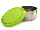 U Konserve Round Container, Medium 8oz, 1-Pack Lime