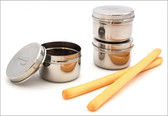 U Konserve Mini Stainless Steel Food Containers 3-Pack
