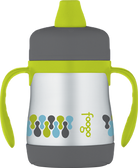 Thermos Foogo Stainless Steel Leak-Proof Sippy Cup with Handles 7 oz (More Colors)