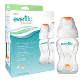 Evenflo Feeding Advanced + WIDE Mouth 8oz 2-Pack Bottle Eng/FR
