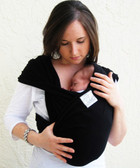 Baby K'Tan Baby Carrier Black
