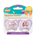 Ulubulu Princess & Born 2 Shop Pacifiers 0-6M (Girl)