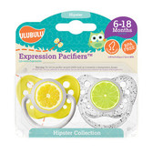Ulubulu Lemon & Lime Pacifiers 6-18M (Unisex)