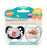 Ulubulu Milk & Cookies Pacifiers 0-6M (Boy)