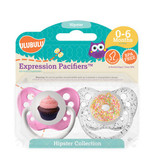 Ulubulu Cupcake & Donut Pacifiers 0-6M (Girl)