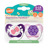 Ulubulu Butterfly & Flowers Pacifiers 6-18M (Girl)