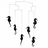 Flensted Mobiles Sea Horse Black