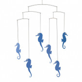 Flensted Mobiles Sea Horse Blue
