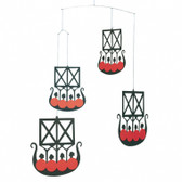 Flensted Mobiles Viking Ships 5
