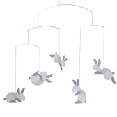 Flensted Mobiles Circular Bunnies