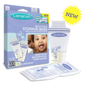 Lansinoh Breastmlk Storage Bags 25 Count