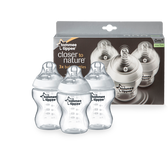 Tommee Tippee 9oz Close to Nature Bottles, 3 pk