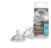 Tommee Tippee Medium Flow Nipples 2-Pack