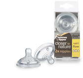 Tommee Tippee Variable Flow Nipples 2-Pack