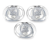 Tommee Tippee Newborn Clear Shield Pacifier 3-Pack
