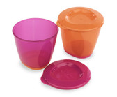Tommee Tippee Pop Up Weaning Pots 2-Pack (More Colors)