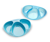 Tommee Tippee Section Plates 2-Pack (More Colors)