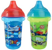 Munchkin Click Lock 9oz Decorated Sippy Cup, 2 pk (More Colors)