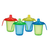 Munchkin Click Lock 8oz Reusable Trainer Cups 4-Pack