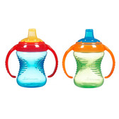 Munchkin Mighty Grip 8oz Trainer Cup, 2 pk (More Colors)
