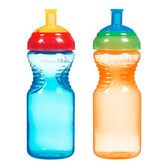 Munchkin Mighty Grip 10oz Sports Bottles, 2 pk (More Colors)